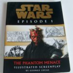 THE STAR WARS Episode 1 The Phantom Menace Illustrated Screenplay